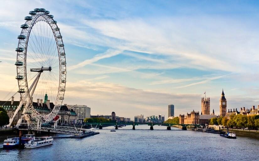 חופשה רומנטית בעיר לונדון