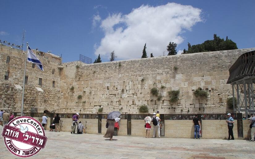 רומנטיקה בעיר העתיקה של ירושלים
