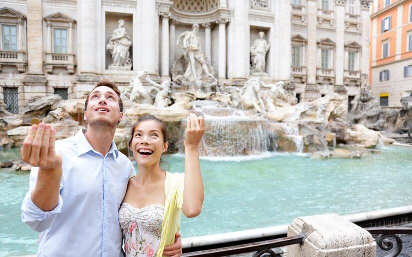 חופשה רומנטית ברומא